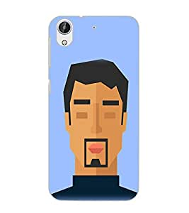 HTC DESIRE 626S FACE Back Cover by PRINTSWAG