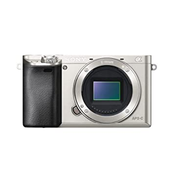 Sony Alpha a6000 24.3MP Camera (Silver, Body Only)
