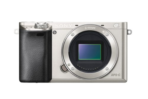 Sony Alpha a6000 Interchangeable Lens Camera - Body only (Silver)