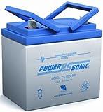 Sealed AGM Gel Golf Cart Battery 12 Volt 35 Amp Hour
