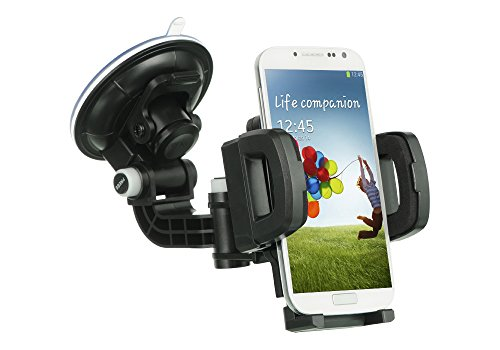 Ace 4 Lite,Ace 4 Lite Case,Ace 4 Lite, Customerfirst, Heavy Duty Universal Car Mount Mobile Phone Holder Windshield Dashboard Car Mount Holder for Samsung Galaxy Ace 4 Lite G313 / ace (Car Mount) (Samsung Ace 4 Lite G313 compare prices)