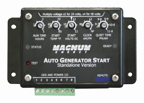 Magnum Energy Me-Ags-S Auto Generator Start Controller (Ags Controller - Standalone Version) For Me Series, Mm Series, Mms Series, Ms Series, Ms-Pae Series And Rd Series, Includes Ags Module, Remote On/Off/Test Switch, Switch Bezel, A 25' 6-Wire Cable, An