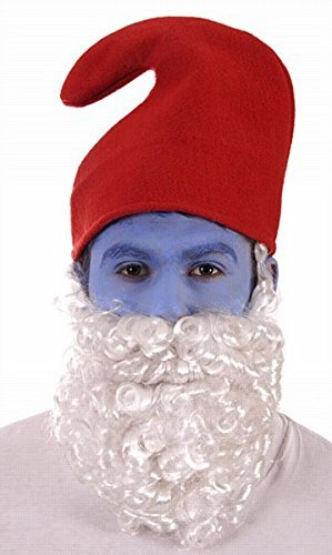 Party Accessories Men's Gnome Hat & White Beard