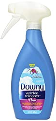 Downy Wrinkle Releaser Plus, Light Fresh Scent, 16.9 Fluid Ounce (Pack of 4)