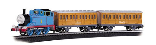Bachmann Trains Thomas with Annie and Clarabel Ready-to-Run Large Scale Train Set