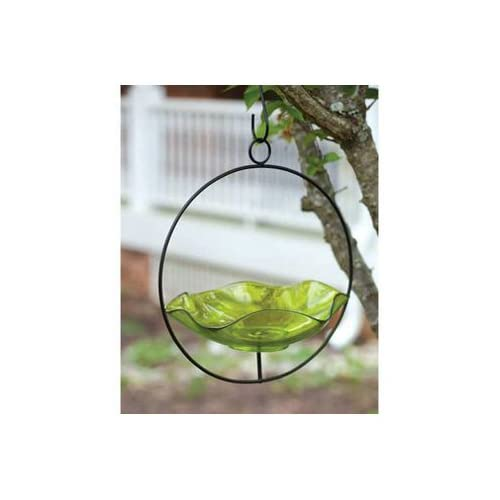New Evergreen Enterprises Inc Light Green Hanging Glass Bird Popular High Quality Practical