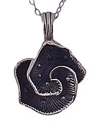 Sterling Enterprises Flower Pendant Silver Silver Pendant Necklace For Women