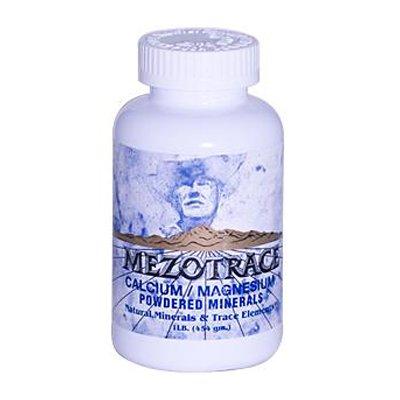 Mezotrace Calcium Magnesium Powdered Minerals - 1 Lb