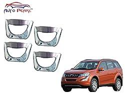 Auto Pearl - Premium Quality Chrome Door Handle Latch Cover - Mahindra XUV 500 2015