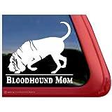 Bloodhound Mom ~ Bloodhound Vinyl Window Auto Decal Sticker