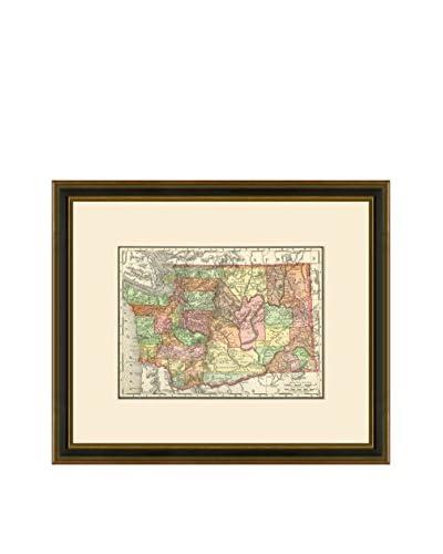 Antique Map of Washington, 1886-1899