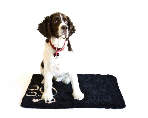 Danazoo Wet Pet Bed Mat, Black
