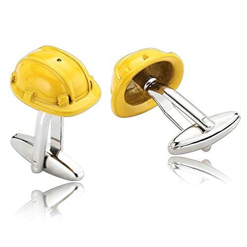 adisaer-manschettenknopfe-edelstahl-gelb-safety-helmet-silber-einzigartige-manschettenknopfe-herren-