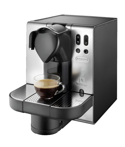 DeLonghi EN680.M Nespresso Lattissima Single Serve Espresso Maker, Metal