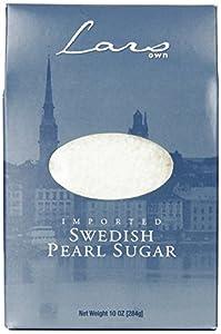Lars' Own Swedish Pearl Sugar, 10 Ounce