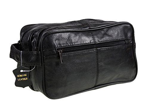 mens-black-leather-washbag-travel-wash-bag-with-2-compartments-and-handle