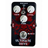Kmise A1841 Joyo JF-02 Ultimate Overdrive Pedal, Featuring True Bypass Wiring