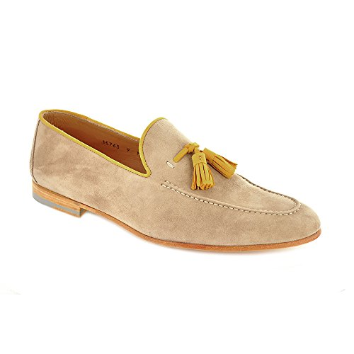 9efc5663a27 Magnanni Mens Shoes Bari Cashmere Suede Tassel Loafer 15763 Check ...