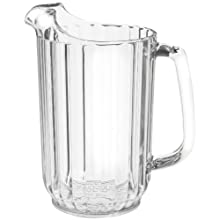 Cambro P320CW 32 oz Capacity, Camwear Clear Polycarbonate Pitcher