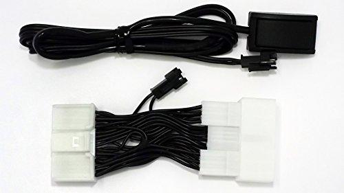 レクサス RX450h GYL10・GYL15・GYL16 走行中テレビDVDが見れるナビ 操作もできるキット  (STV-T04-SS-26P)