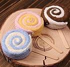 Party activities, prizes Wedding Favor gifts customers rebate cake towels lollipop shape towel wholesale