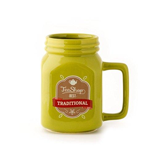 CKB-Ltd-Lime-CERAMIC-Single-MASON-Jam-Jar-Mug-vert-citron-en-cramique-pour-toutes-les-boissons-chaudes-tasse-de-th-caf-chocolat-chaud-400ml
