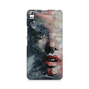 Mobicture Girl Art Premium Designer Mobile Back Case Cover For Lenovo A7000