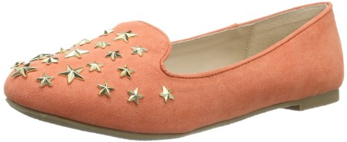 Buffalo Girl Womens 118-1 MICRO SUEDE Casual Orange Orange (CORAL 01) Size: 36
