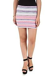 NOD Pink Short skirt for women