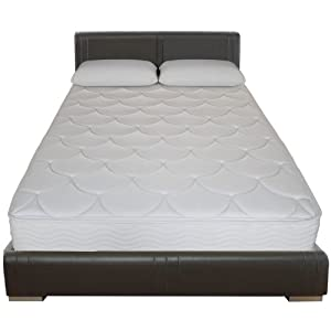 Sleep Master 8-Inch Tight Top Pocketed Spring Mattress, Twin