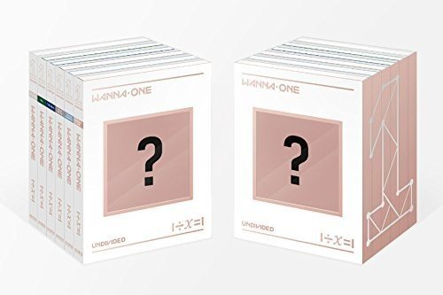 CD : Wanna One - Undivided (1÷ x =1) (Asia - Import)