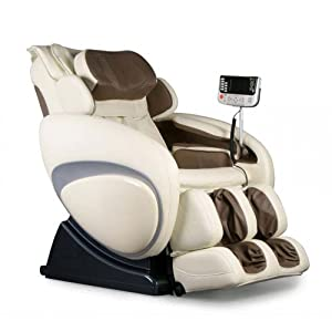 Osaki OS 3000 D Zero Gravity Massage Chair Cream Recliner S Track