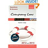Q&A Company Law 2012 and 2013 (Law Questions & Answers)
