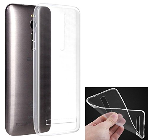 DMG Ultra Thin Soft Touch, Slim Fit Transparent TPU Back Cover Case For Asus Zenfone 2 ZE551ML (Transparent)  available at amazon for Rs.149