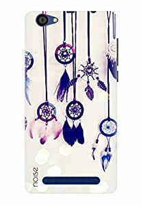 Noise Designer Printed Case / Cover for Lyf Flame 1 / Patterns & Ethnic / Dream Catcher Design