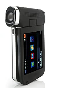 Veho VCC-008 Kuzo Full 1080p High Definition Slimline Camcorder with 3inch Touch Screen