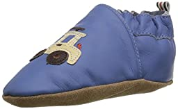 Robeez Lil Off Roader Crib Shoe (Infant), Blue, 18-24 Months M US Infant