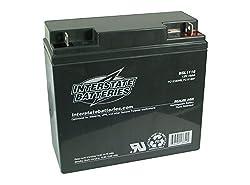 12V 18Ah Sealed Lead Acid Rechargeable Battery