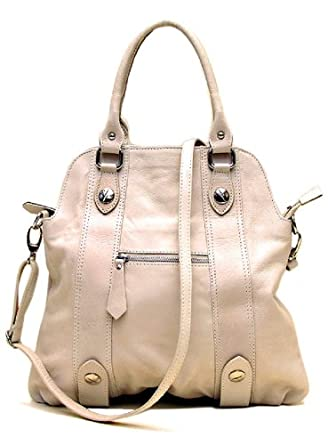 Floto Imports Borghese Tote Bag 6104 Color: Beige