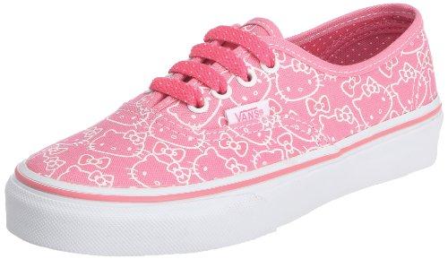 Vans Authentic VOKN66Y, Sneaker unisex bambino, Rosa (Hellokitty(Hotpink/Truewht)), 33