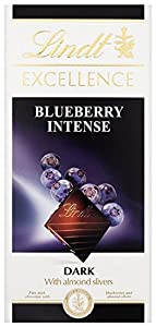 Lindt Excellence Dark Blueberry 100 g (Pack of 10)