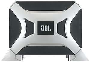"""JBL Car BassPro 6"""" 100 Watt Auto-Hifi-Upgrade mit Subwoofersystem mit patentiertem Slipstream Port - Schwarz/Silber"""