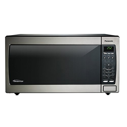 Panasonic Ull Size 1.6 Cu. Ft. Genius Countertop/Built-In Microwave Oven With Inverter Technology, Stainless