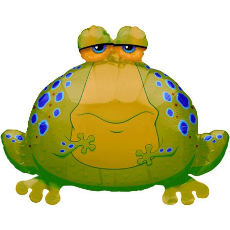 Big Bullfrog Mini Shape Balloon (1 ct)