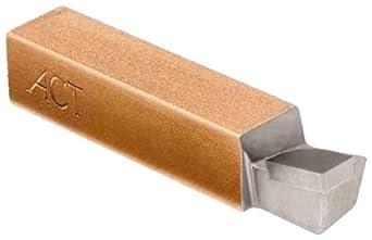 American Carbide Tool Carbide-Tipped Tool Bit for 90 Degree Boring, Neutral, C5 Grade, TSA Style