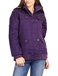 Duke Stardust Purple Coloured Jacket Made From Cotton