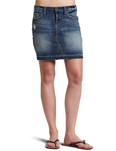 !iT Jeans Juniors Midi Denim Skirt