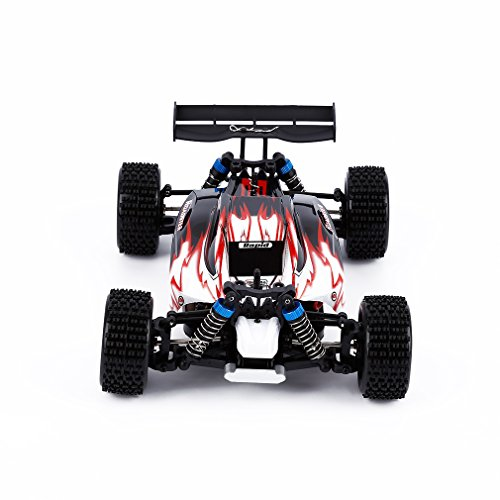 RC Car, Electric Remote Control Truck, YKS® WLtoys A959 2.4G 1:18 4WD High Speed Off-Road Monster Hobby Truggy Toys (Red) (Gas Rc Cars Hobby compare prices)