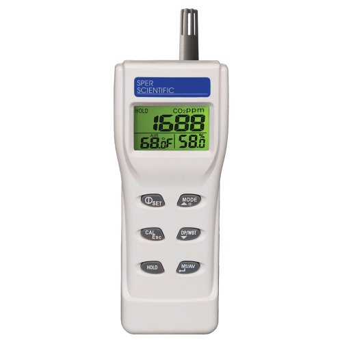 Indoor Air Quality Meter - 800046 by Sper Scientific