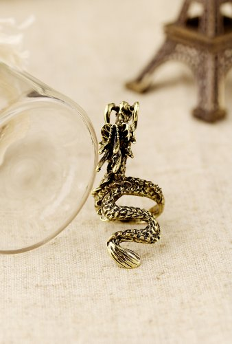 Popular Accessories Personality Punk Stereo Chinese Zodiac Dragon Ring